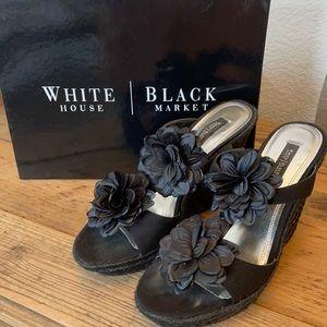 White House Black market Yately sandals